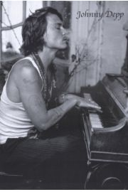 Johnny Depp Pianino - plakat