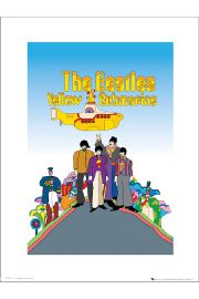 The Beatles Yellow Submarine - art print