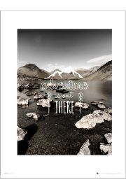 Adventure Out There - art print