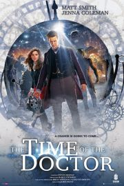 Doctor Who The Time of the Doctor - plakat
