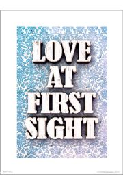 Love At First Sight - plakat premium