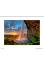 Tom Mackie Waterfall - art print