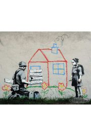 Banksy Playhouse - plakat