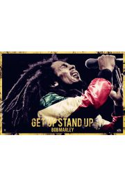 Bob Marley - Get Up Stand Up - plakat
