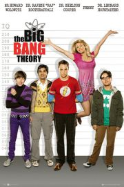The Big Bang Theory - Policja - plakat
