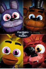 Five Nights at Freddys - plakat