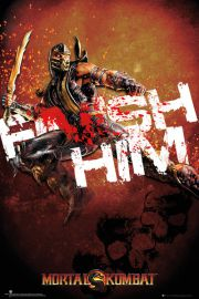 Mortal Kombat Finish Him - plakat