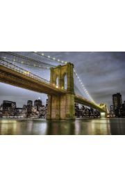 Nowy Jork Brooklyn Bridge - plakat
