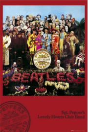 The Beatles Sgt. Peppers Lonely Hearts Club Band - plakat