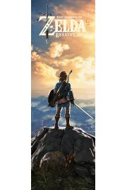 The Legend Of Zelda Breath Of The Wild  - plakat