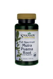 Swanson Full Spectrum Muira Puama Root 400mg 90 kaps.