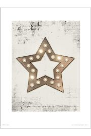 Christmas Star Lights - plakat premium
