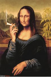 Mona Lisa Joint - plakat