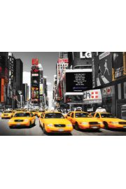 Nowy Jork Times Square Taxi Day - plakat