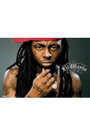Lil Wayne Close Up - plakat