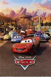 Auta - Disney Cars - one sheet - plakat
