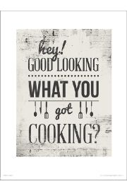 Hey Good Lookin - art print