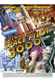 Futurama Space Pilot 3000 - plakat
