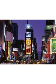 Nowy Jork Times square at night - plakat