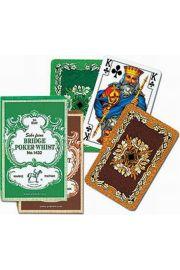 Karty do gry Piatnik 1 talia Liście dębu