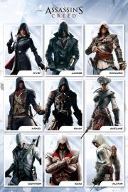 Assassins Creed Kompilacja - plakat