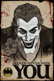 Joker Needs You Batman - plakat