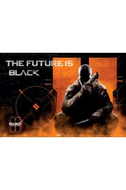Call of Duty Black Ops II - The Future is Black - plakat