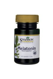 Swanson Melatonina 3mg 120 kaps.