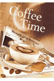 Kawa - Coffee Time - plakat 3D