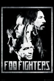 Foo Fighters - Zespół - plakat
