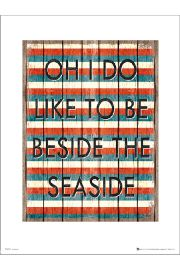 Beside The Seaside - art print