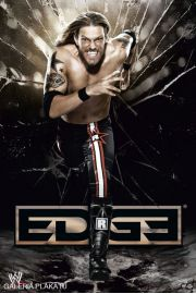 WWE Wrestling Edge Running - plakat