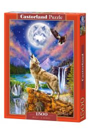 Puzzle 1500 Wolf's Night CASTOR
