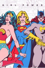 DC Comics Girl Power - plakat