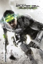 Splinter Cell Blacklist - plakat
