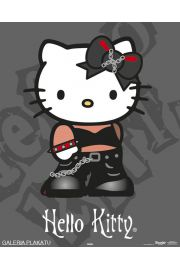 Hello Kitty Punk - plakat