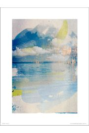 Abstract Sea - plakat premium