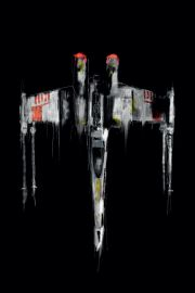 Star Wars Gwiezdne Wojny X-Wing Fighter - plakat premium