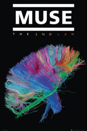 Muse The 2nd Law - plakat