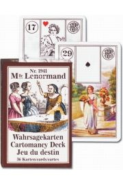 Mlle Lenormand. Karty do wróżenia. Piatnik