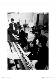 The Beatles Studio - art print