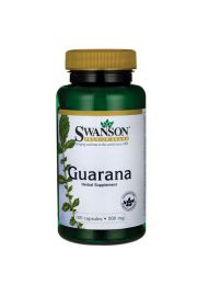 Swanson Guarana 500mg 100 kaps.