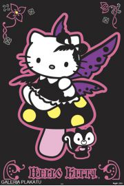 Hello Kitty Gothic - plakat