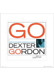 Blue Note Dexter Gordon - plakat premium