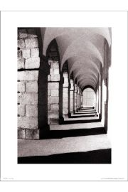 Stone Archways - art print