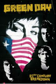 Green Day Protest - plakat