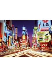 Nowy Jork Times Square - Ruch Uliczny - plakat
