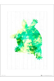 Seaside Turtle Green - art print
