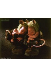 Anne Geddes - mice - plakat