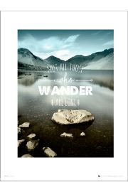 Adventure Wander - art print